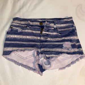 Billabong Button Up Denim Shorts